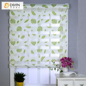 Blinds Hight Quality Sunshade Zebra Day Night Double Layer Roller Shades Customized Curtains Cut To Your Size