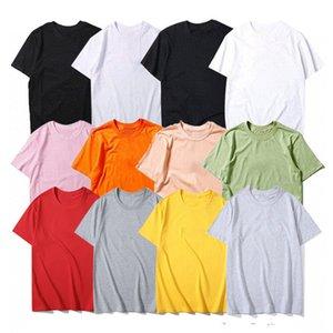 Unisex letra Imprimir camiseta moda mujeres verano camiseta hombres casual suelta manga corta trendy calle desgaste hip hop estilo ins multicolor fresco chico
