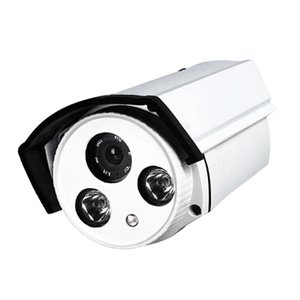 Camcorders HD 1200TVL Outdoor Indoor Day Night Vision Waterproof Infrared 4mm Security Surveillance Camera, White