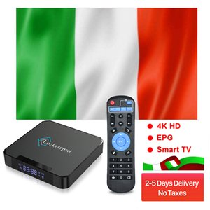 LuckytvPro 8S Android 10.0 TV Box 4GB 32GB 2.4 جرام 5G Wifi Bluetooth 5.0 صناديق الذكية 6K مع 1 سنة إيطاليا M3-U بعد الخدمة المحلية