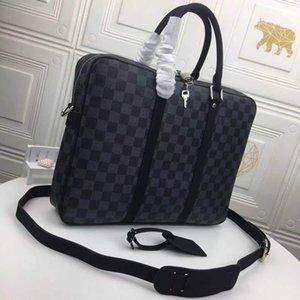 01 Luxus Handtasche Mode benutzerdefinierte Designer Aktentasche Qualität der Plaid-Leinwand
