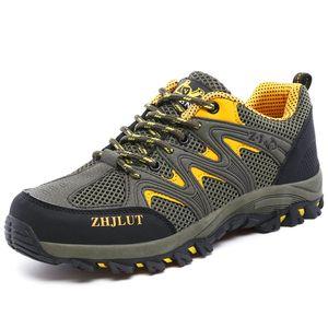 2021 unisex outdoor sneakers summer hiking shoes male althiec sports training designer women army green orange blue waterproof shoe 40-46