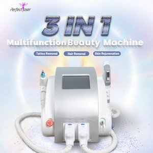 High quality ipl opt hair removal machine elight skin rejuvenation nd yag laser beauty equipment 2 years warranty