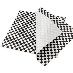 Tools & Accessories 400 Sheets Checkered Dry Waxed Deli Paper Sheets, Liners For Food Basket,Bread And Sandwiches