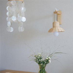Lamp Covers & Shades Rattan Lampshade Handmade Kids Room Nursery Dorm Ornament Ceiling Light Cover Homestay Bedside Wedding Hanging Decor Gi