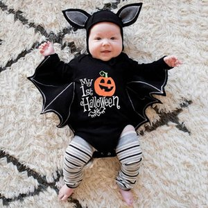 Rompers Baby Clothes For Romper Autumn Winter Boy Girl Bat Long Sleeve Kids Born Jumpsuit Infant Halloween Costume