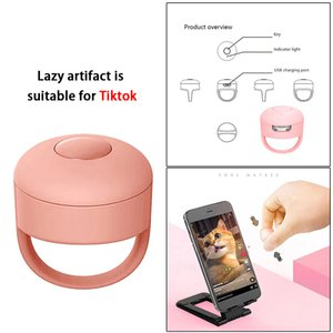 New fashion Bluetooth Fingertip Video Controller For TIKTOK Short Videos Book Page Flipping Devices Mobile Phone Remote control Device
