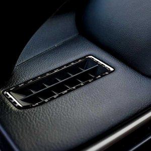 Carbon fiber Automobile decoration instrument air outlet panel vent Car accessories Styling Interior for Lexus IS250 2013-2020