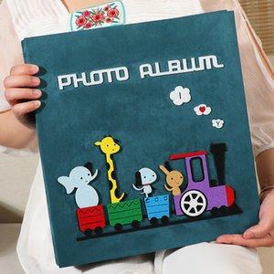 600 Sheets 5 inch Photo Album For Kids Large Wedding Photo Album Family Photo Albums Baby Home Decoration Large Capacity 210330
