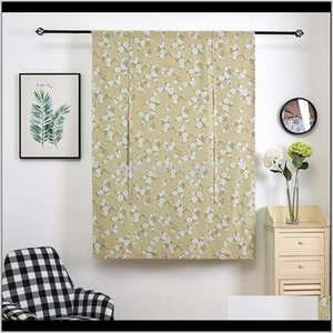 Treatments Textiles Home Garden Drop Delivery 2021 Multi Size Curtains Treatment Blinds Finished Drapes Printed Window Blackout Curtain Livin