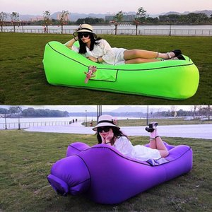 Arries Outdoor Sleeping Bag Inflatable Sofa For Tourism Camping Mattress Beach Lazy Bed Air Hammock Camp Fishing Chair Bags