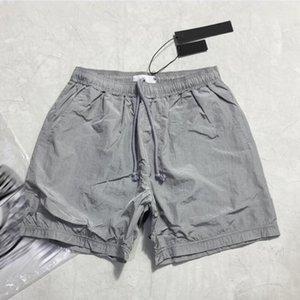 الصيف رجل السراويل عداء ببطء السراويل الذكور مصمم السراويل الرجال ركض سوداء الفضة السراويل الاتحاد الأوروبي حجم السراويل S-XL 90587 2 قطع