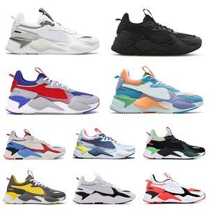 puma rs x 2021 Varış RS X Koşu Spor Ayakkabı Erkek Kadın Üçlü Siyah Gri Beyaz Oyuncaklar Optimus Prime Reingion Transformers Açık Eğitmenler Sneakers 36-45