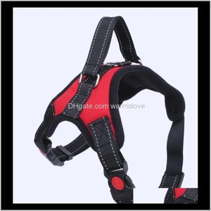 Collars Leashes Pet Home Garden 12 Styles Vest Harnesses Safety Lock Buckle Adjustable Strong Padded Chest Large And Medium Heavy Duty