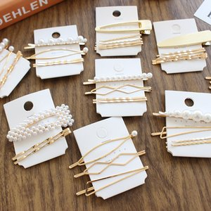 3Pcs Set Pearl Metal Women Hair Clips Bobby Pin Barrette Hairpin Hairs Accessories Beauty Styling Tools Fashion Jewelry