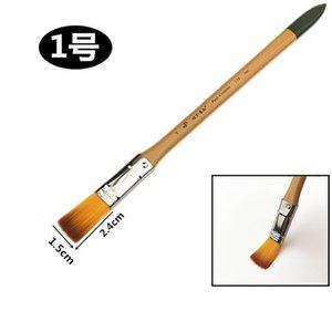 Paul Cezanne 178 long rod nylon oil painting water powder pen watercolor row brush paint board 1203 V2