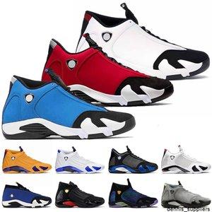2021 أعلى جودة Jumpman 14 أحمر رجالي 14S كرة السلة أحذية جامعة الذهب Hyper Royal Black Toe Laney Gym Blue Sports Trainers أحذية رياضية