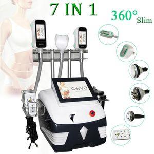 New Design Automatic Equipment 4 Headles Portable Cryolipolysis 360 Degree Slimming Machine For Salon