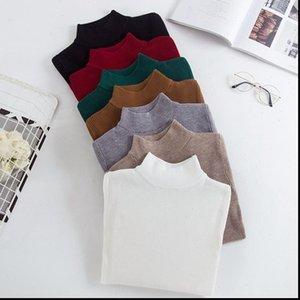 Bygouby Mujeres Suéteres y jerseys Manga larga Tejido Suéter Femenino Primavera Autumn Séter Mujer Pull Femme