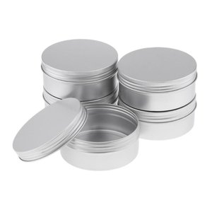 Pack Aluminium Tin Large Make Up Candle Pots 250ml Capacity Empty Big Cosmetic Candle Spice Pots Hair Product Sweet Jar Storage Bottles & Ja