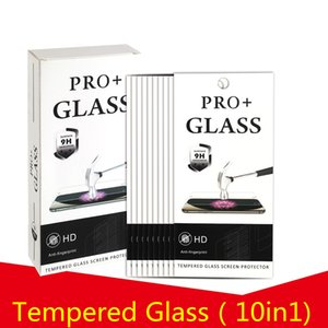 9H Explosion Proof Premium 2.5D Tempered Glass Screen Protector For iPhone 13 Pro Max 12 Mini 11 XS XR X 8 7 6 6S Plus SE With Retail Package