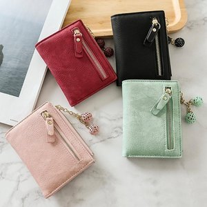 Practical Banknote Folder Women Wallet Female Short Multi-function Folding Purse Female's Gift Storage Bags