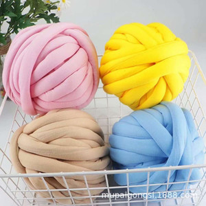 Mupai heart filling cotton strip DIY hand knitted baby fence protective pillow blanket pet nest floor mat line