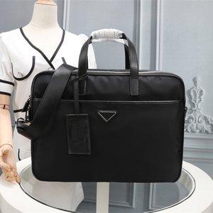 2021 Nylon Nylon Masculino Pasta de Desenhista de Alta Qualidade Saco Laptop Grande Capacidade Retro Moda Escritório Bolsa