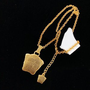 Fashion gold necklace pendant bijoux for lady Design mens and Womens Party Wedding Lovers gift jewelry NRJ