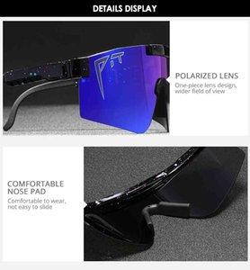 2021 Polarized Google Viper Sport Pit UV Original Lens For Outdoor Mirrored Windproof Eyewear Men women Gift 100% Sunglasses TR90 Pcgle