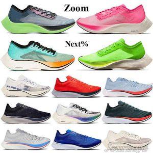 Zoom Fly Next %Men Women Running Shoes Valerian Blue Pink Ekiden Volt White Team Royal 4 %Ice Blue Obsidian Vast Grey Sneakers Trainers