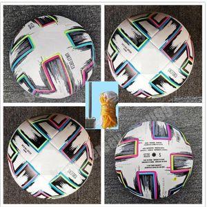 2021 Top European Cup Soccer ball Final KYIV PU size 5 balls granules slip-resistant football 4 high quality