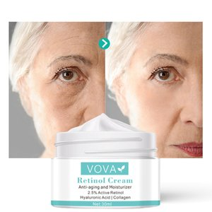 2pcs VOVA 2.5% Active Retinol Anti Wrinkle Face Cream Improve Fine Lines Firming Lift Moisturizer Collagen Anti Aging Skin Care