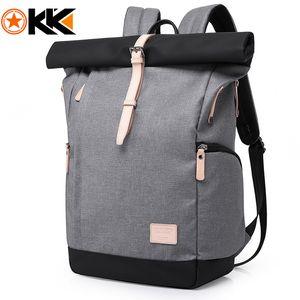 KAKA Brand Men Women Backpack Bag College Casual School Backpack Male Travel Bag 15.6 USB Laptop Backpacks Mochila knapsack 201119