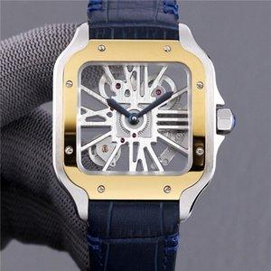 TW Erkek Saati, 39.8 mm çapında ve 9.8 mm kalınlığa sahiptir. İsviçre Randa 4S20 modifiye mekanik hareketi ile donatılmıştır