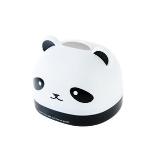 Tissue Boxes & Napkins BF040 Fashion Panda Cartoon Box, Box Desktop Paper Tube Household Towel Napkin 16.5*14.5*11cm