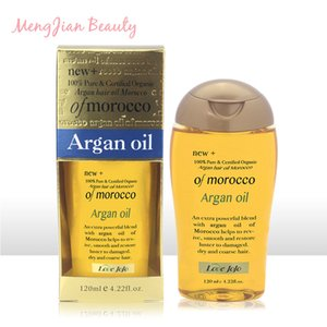 120ml Morocco Argan Hair Essential Oil Nourishing Repair Damaged Improve Split Rough Remove Greasy Hairs Care Treatment