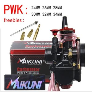 Высокое качество 21 24 26 28 30 32 32 мм Maikuni PWK карбюратор для 2T 4T двигатель мотоцикл скутер UTV ATV универсальная сборка