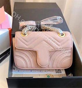2021 lady Women Fashion Handbags Shoulder Bags Cross Body Clutch Luxury Plaid & Tartan Leather Classic Retro Simplicity Letter Button Decoration Chain Bag Totes