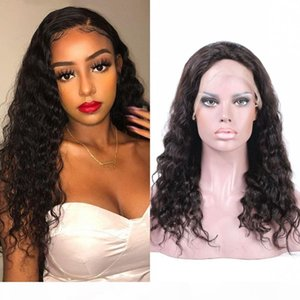 Indian Human Hair Lace Front Wigs Loose Deep Wave Wig 130% Density Full Lace Wigs for Black Women