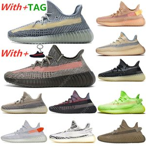 2020 New Kanye ABEZ Asriel Israfil Marsh Running Shoes Tail Light Flax Zyon Linen Citrin Gid Clay Earth Cinder Mens Trainers Sneakers