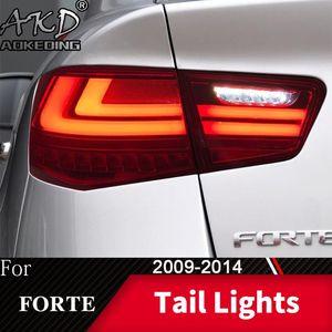 Другая система освещения хвостовой лампы для автомобиля KIA Forte 2009-2014 Cerato светодиодные фонари дневные аксессуары Drl Tuning