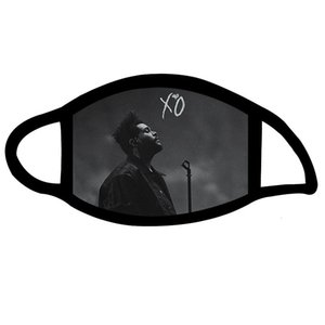 Masks The weeknd fall winter men's and women's 3D digital printing breathable outdoor sports