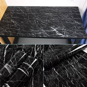 Marble Vinyl Film Self Adhesive Waterproof Wallpaper for Bathroom Kitchen Cupboard Countertops Contact Paper PVC Wall Stickers 513 R2