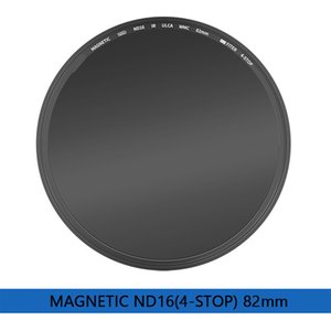 Magnetic SHD ND8 16 32 64 128 256 500 1000 32K 100K 1KK 82mm Filter Optical Glass Quick Installation Anti-Dropping