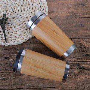 16oz Reusable Bamboo Eco Travel Mug (Cup) tumbler for Coffee or Tea with slid and slip lid ZYY
