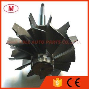 HX40 64mm 76mm 12 blades Turbocharger journal bearing Turbine shaft&wheel Turbo wheel turbo shaft for Turbo charger CHRA Core