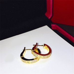 Designer Jewelry Earrings stud women Loves cleef earring Screw Party carti earrings Wedding Couple van Gift Fashion Luxury jyugkhuerfgefddffgf