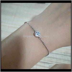 Braccialetti Drop Consegna 2021 Sinleery Semplice braccialetto regolabile girasole per le donne in oro rosa con intarsio in cristallo cristallo bellissimo braccialetto gioia