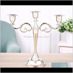 Holders Gold Sier Holder Candelabra Centerpiece For Candlestick 3Arms Stand Wedding Event Candle Stick Owc2975 Crika Jf0P2